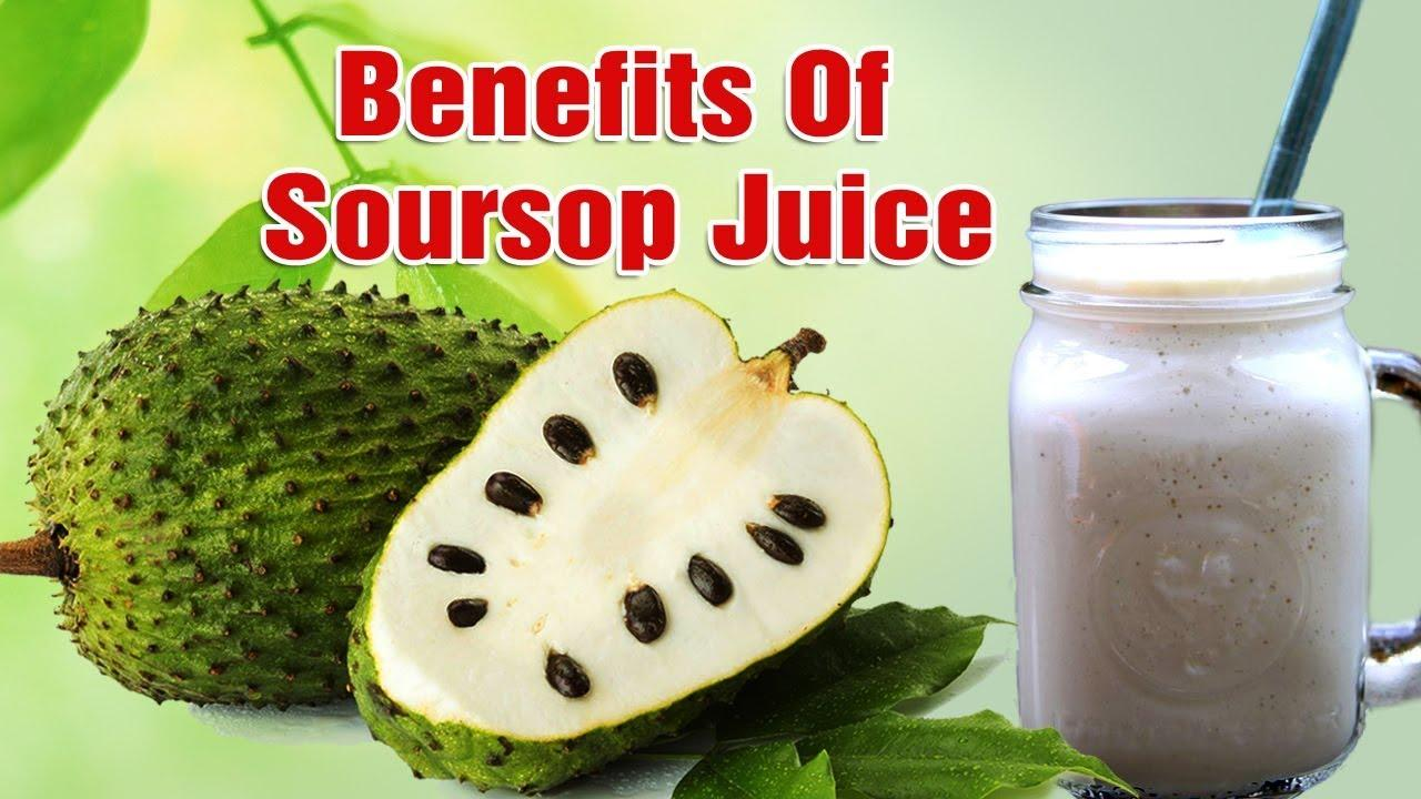 Images Of Soursop Juice